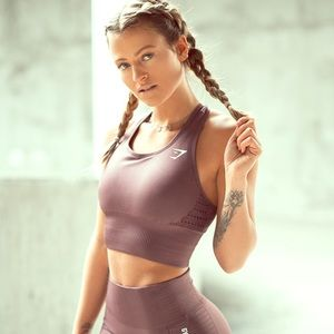 Gymshark seamless energy crop vest
